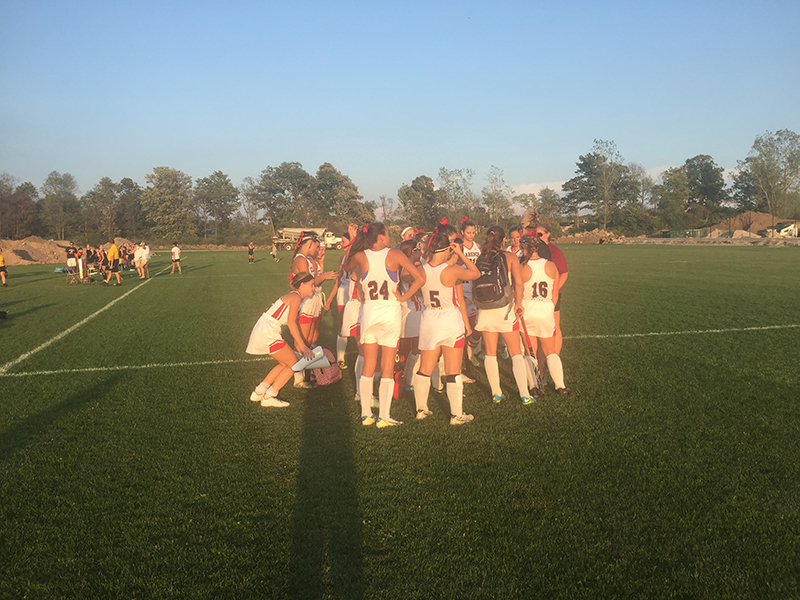 Clarence Looks To Keep Improving On Field Hockey Field