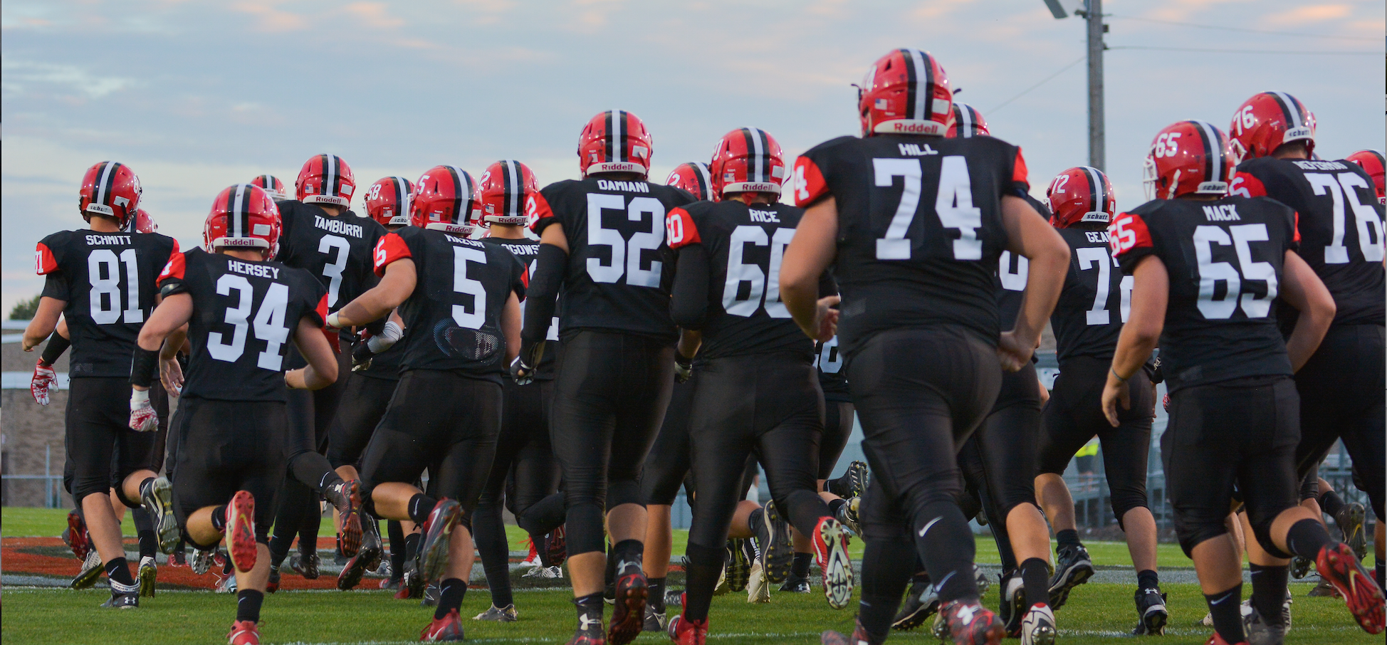 The lancaster high school football team insists it is not focused on