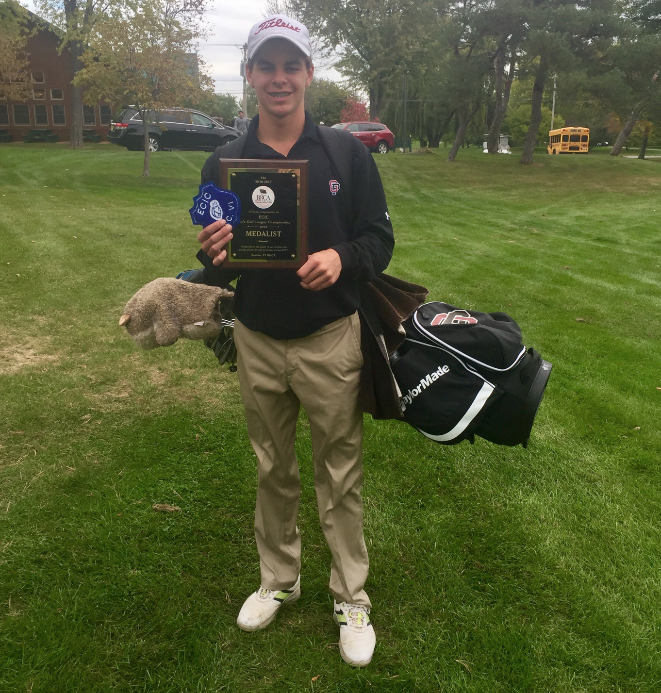 Aidan Shaw Medals in Golf