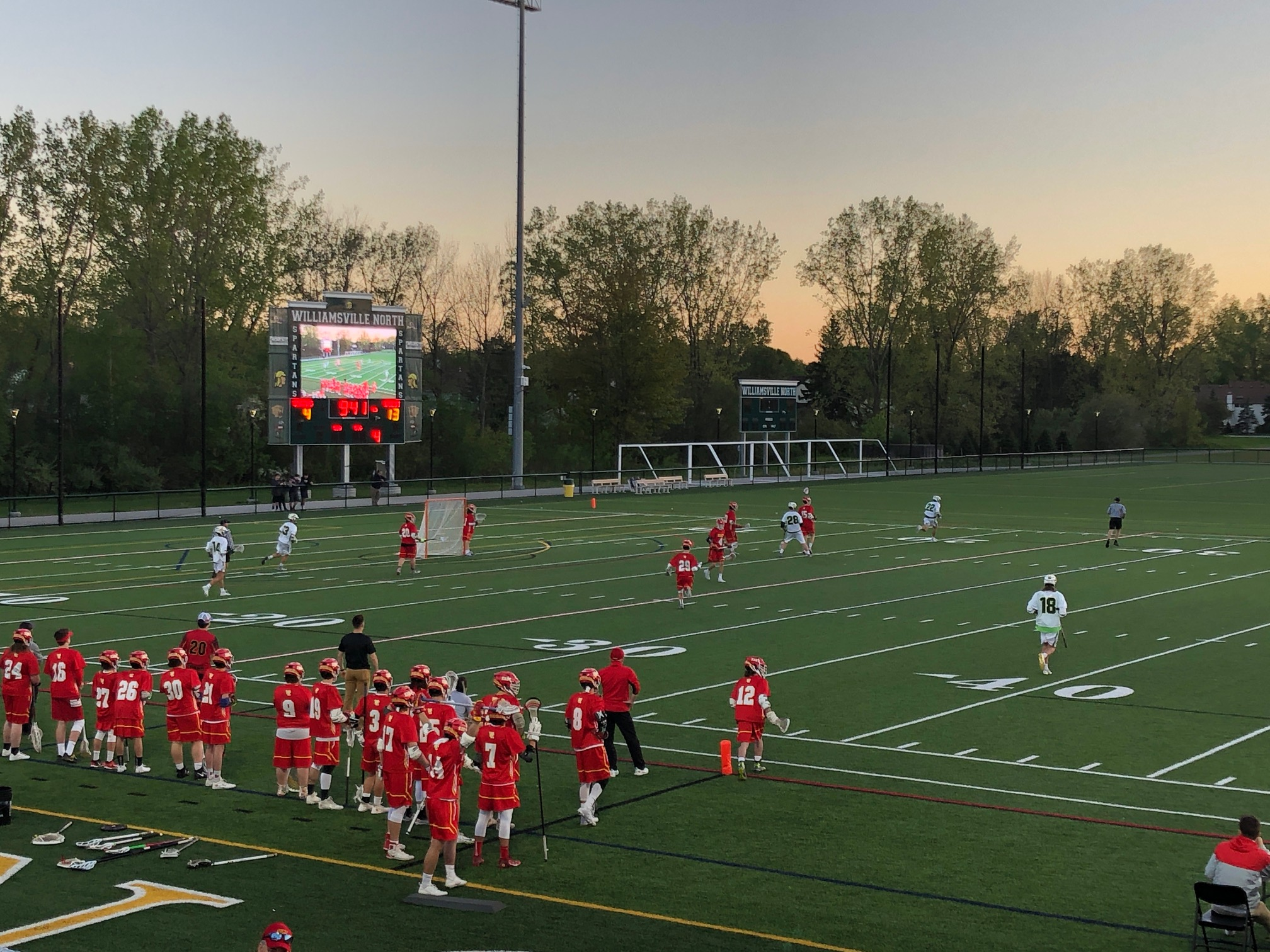 Flames Avenge Mid-season Loss To Spartans, Advance to Sectional Final