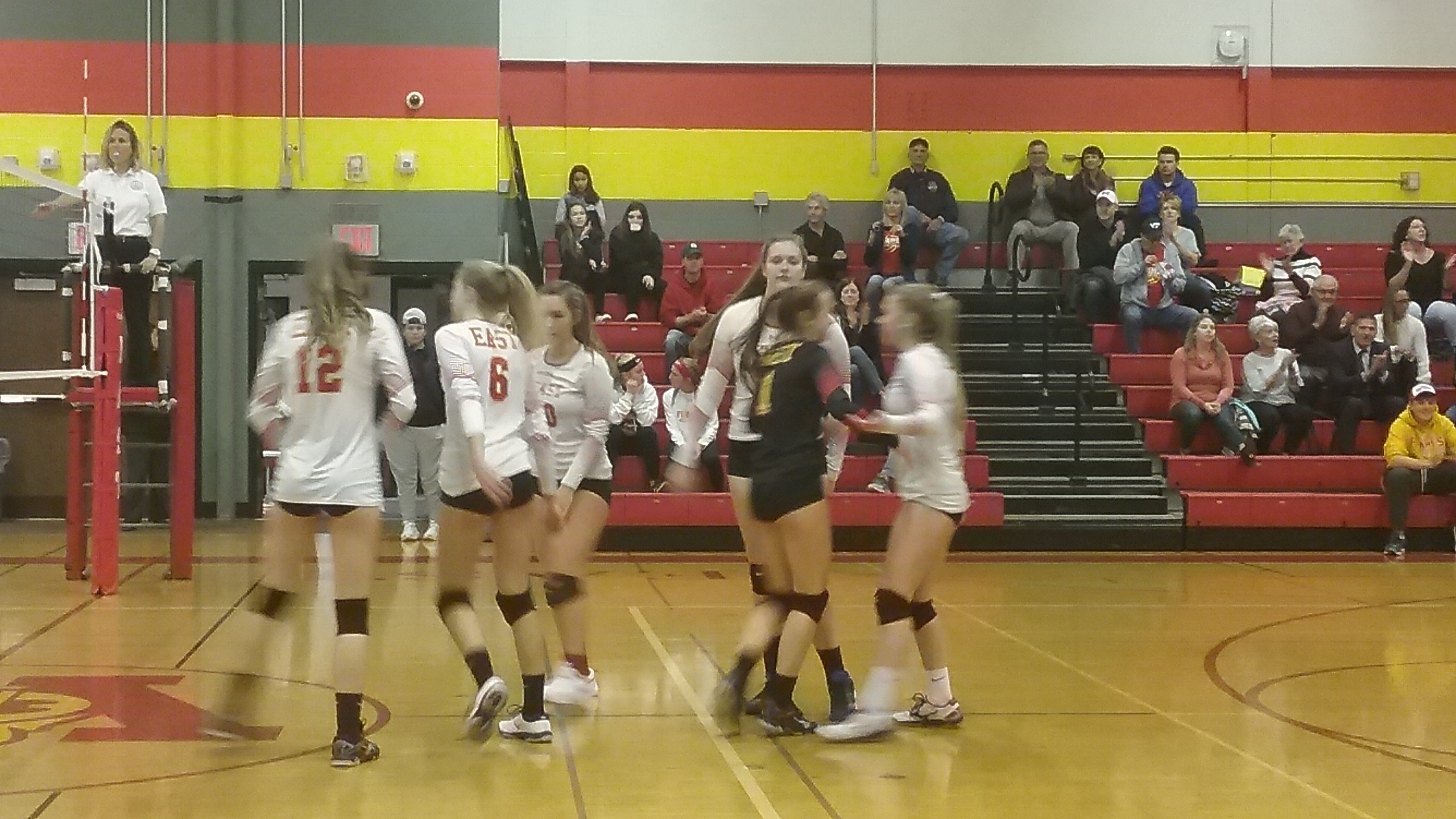 Flames Move On With Straight Sets Win Over Kenmore West