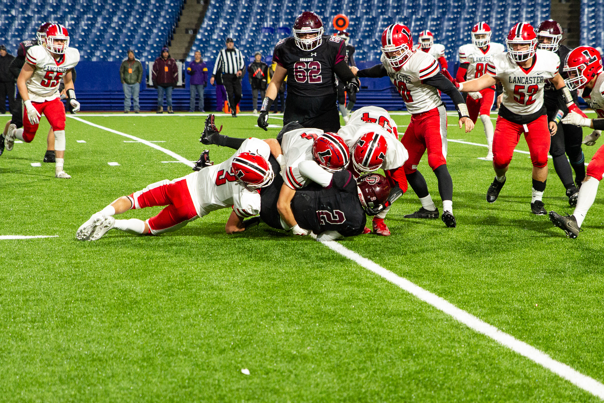 Legends Use Big Second Half to Win Fourth Straight Class AA Title