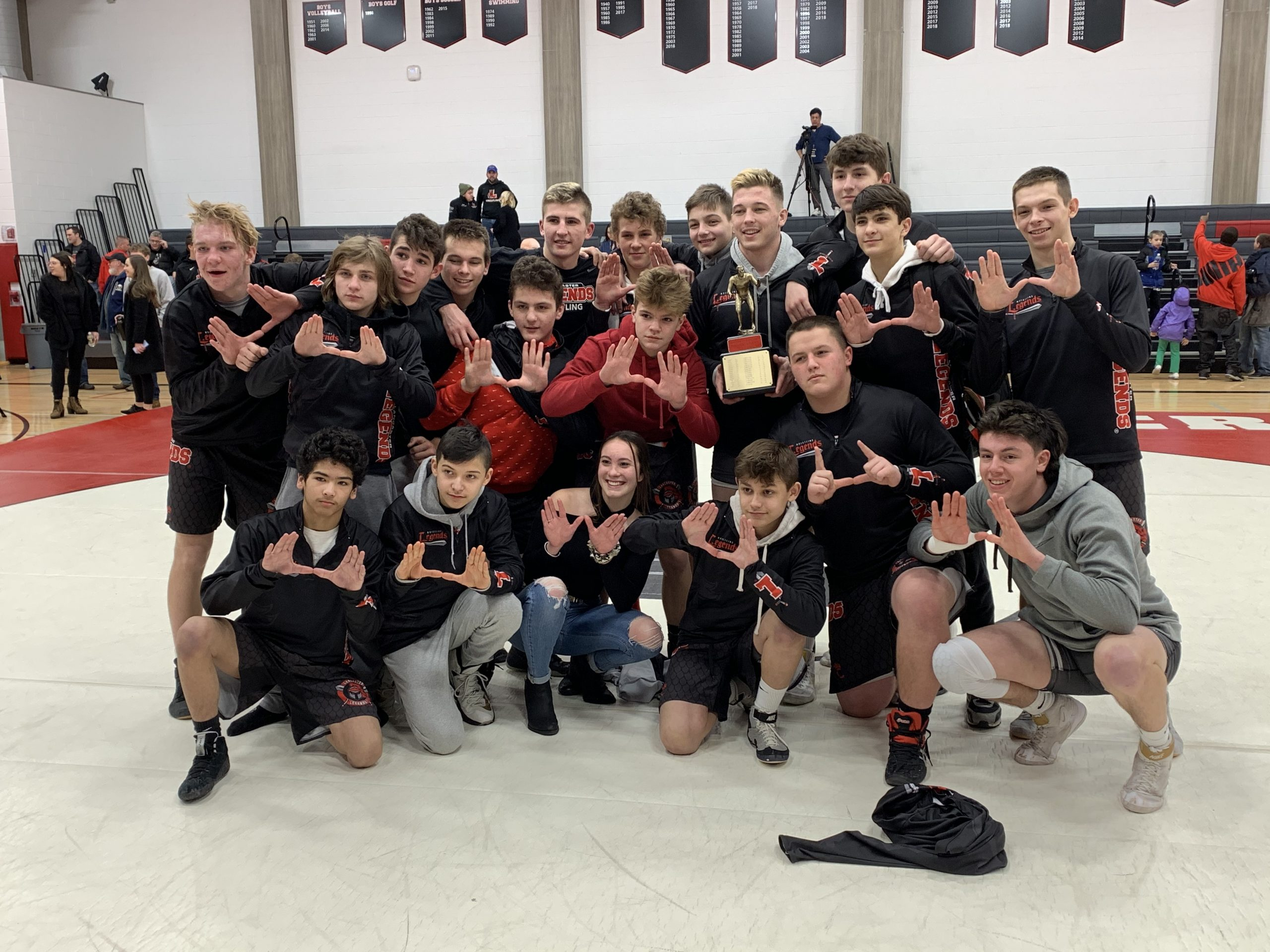 Legends Down Red Devils In Border Brawl to Capture ECIC I Wrestling Crown