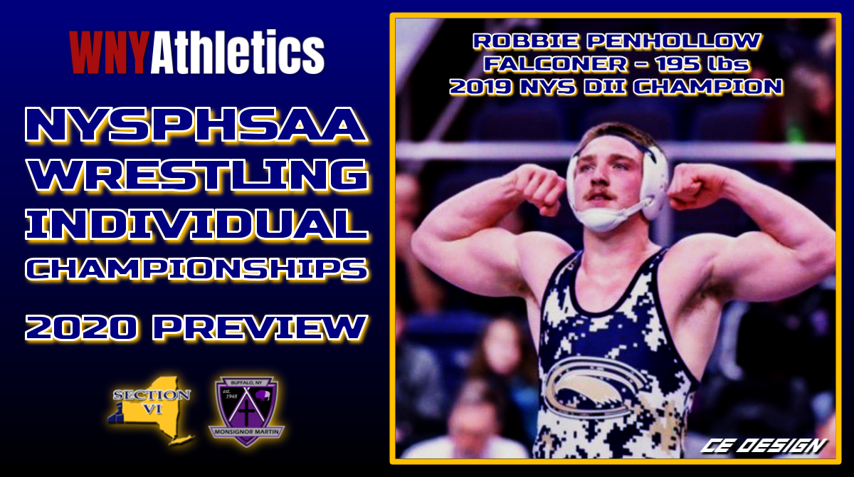 WNY Athletics NYSPHSAA Wrestling Individual Championships Preview