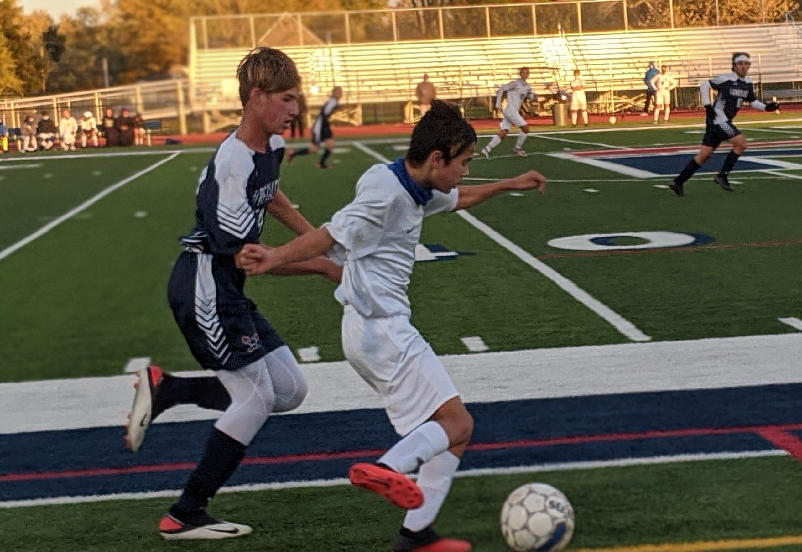 Vikings second-half scoring shuts out Lumberjacks