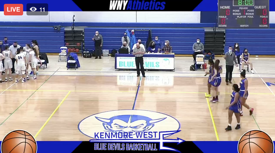 Girls Basketball Lockport @ Kenmore West