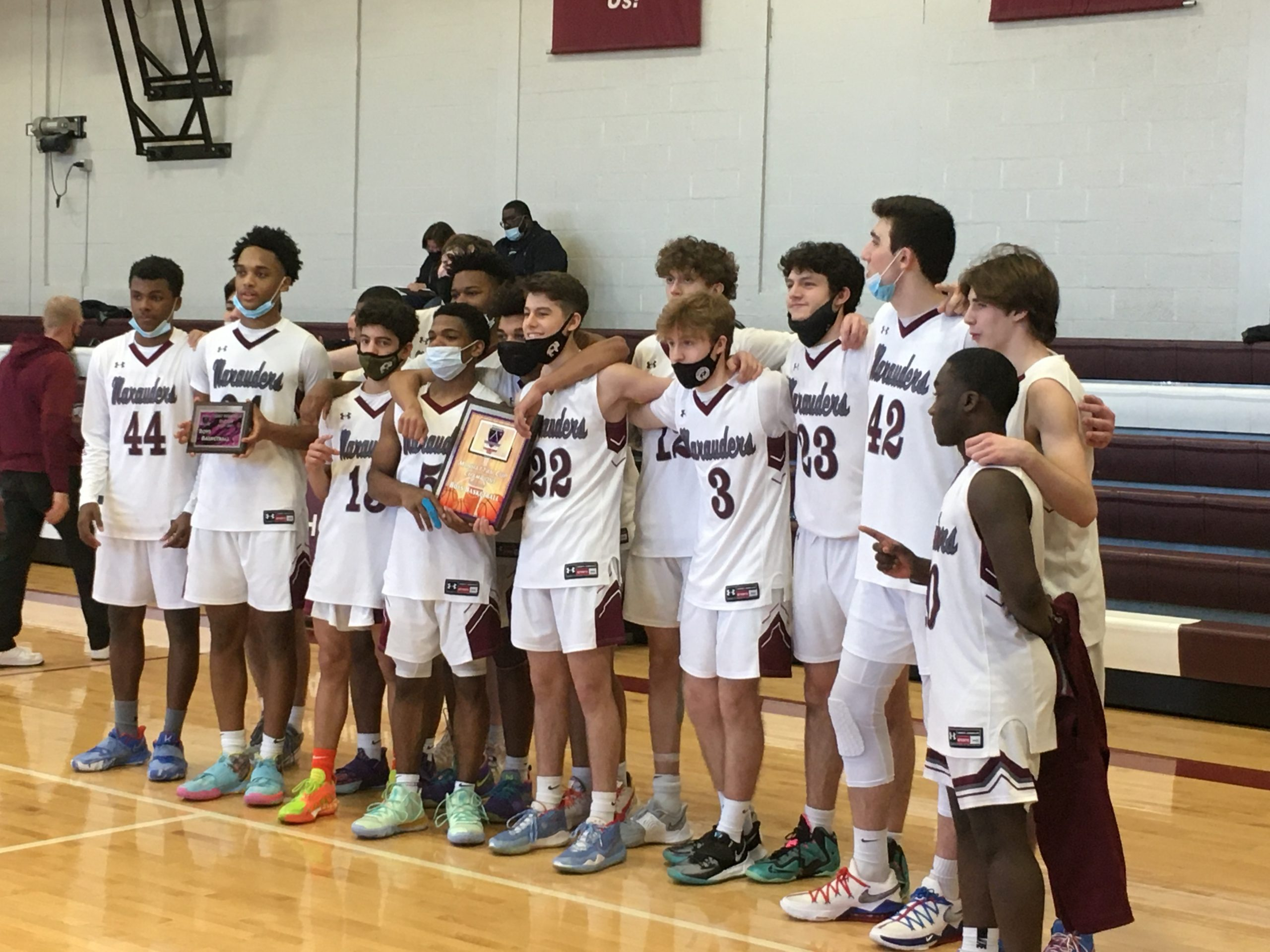 MARAUDERS MAUL TIGERS, WIN MANHATTAN CUP