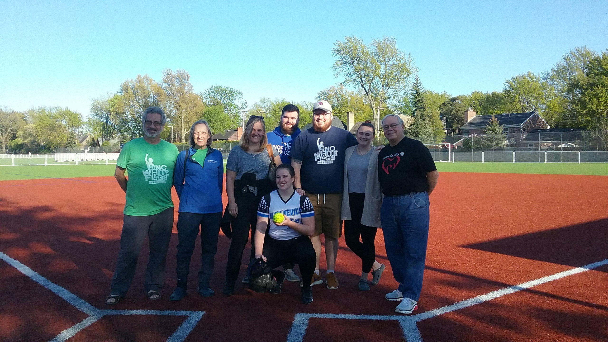 Playing for Pierce – Ken West softball goes to bat for ALS