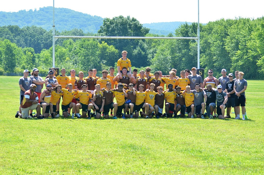 St Bonaventure Holds Rugby Camp