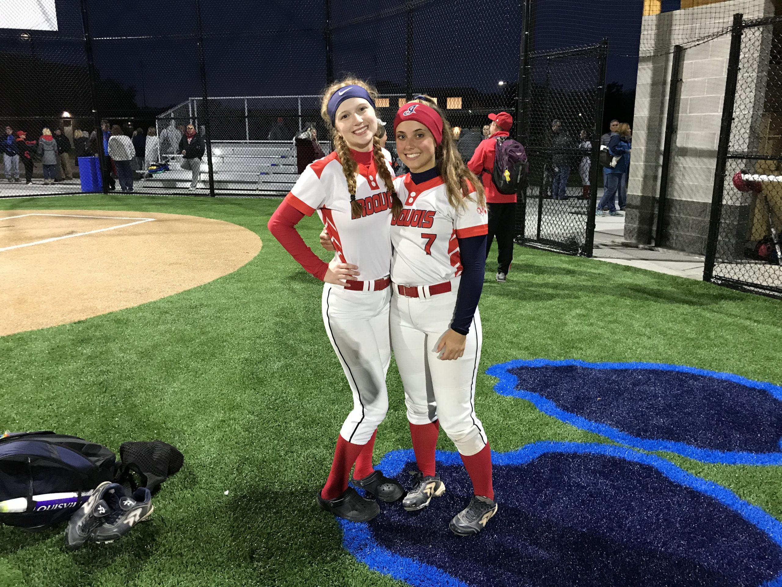 Co-Aces Simon, Hoeflich Lead Iroquois Softball Back to Sectional Championship Game