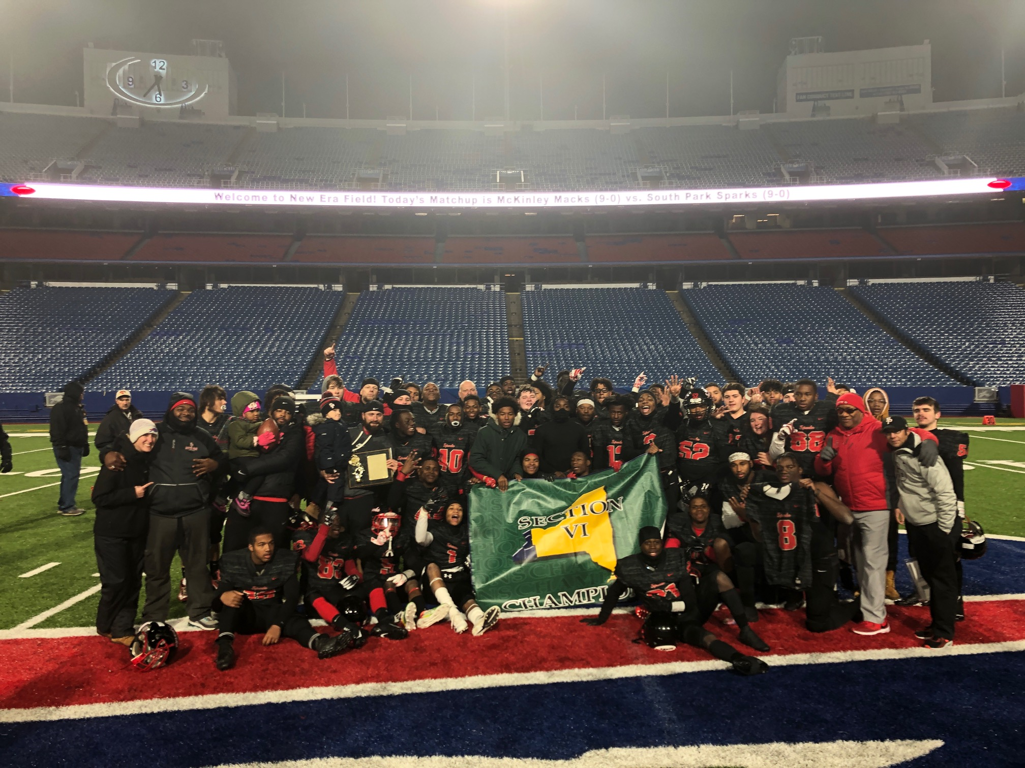 South Park Puts Up 38 First Half Points, Rolls to Class A Title