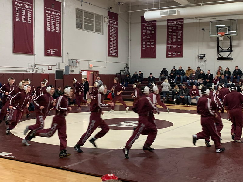 St. Joe's Downs Rival Canisius, Sets Up Msgr. Martin League Title Showdown