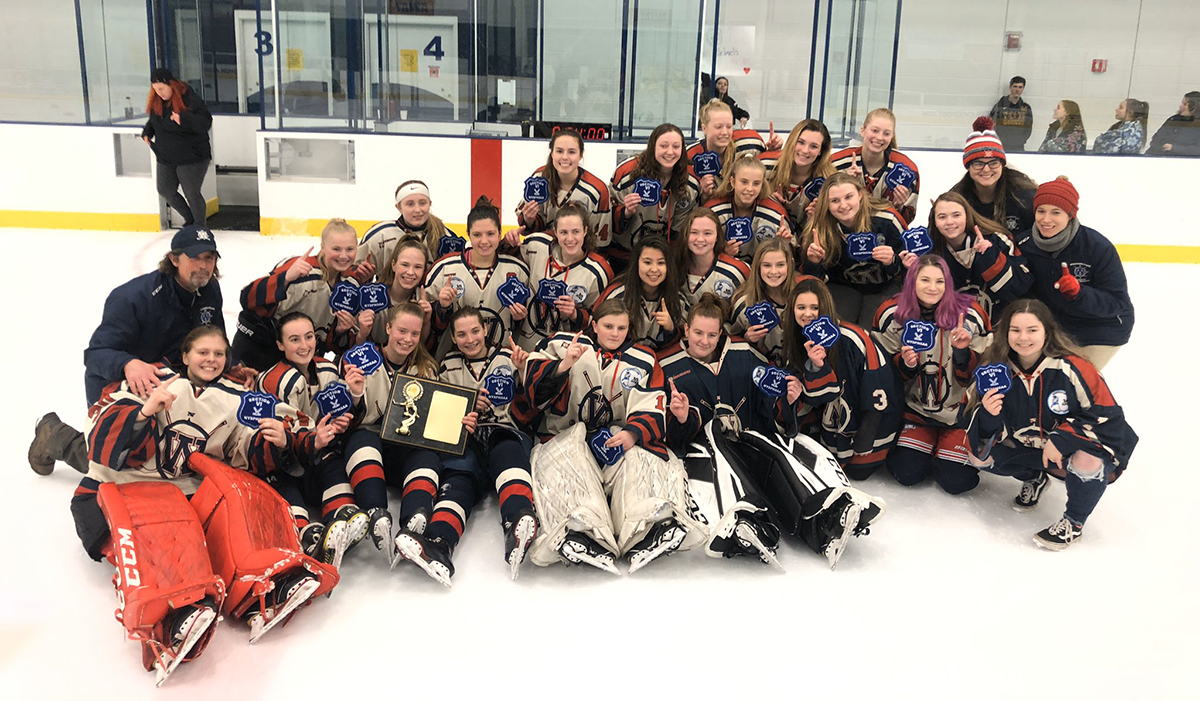 Williamsville Claims Section VI Girls Hockey Title