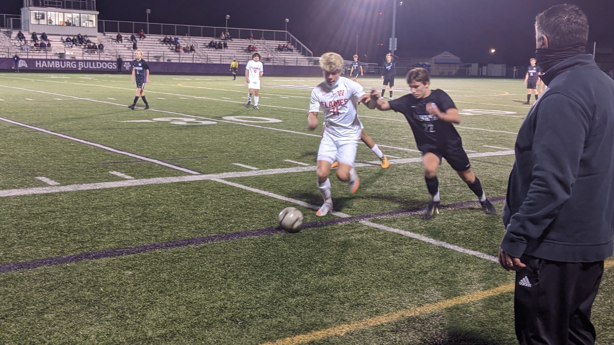 Will East Edges Hamburg to Remain Undefeated
