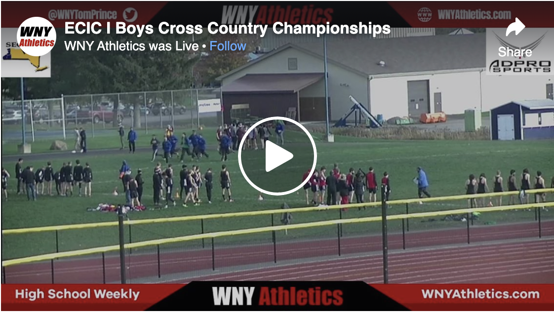 Section VI ECIC D1 Boys Cross Country Finals (Click To View Live Feed)