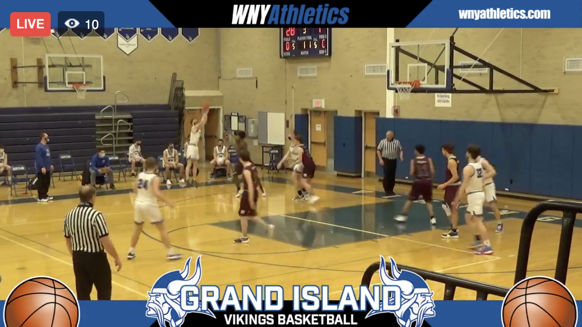 Section VI Boys Hoops: Niagara Falls at Grand Island