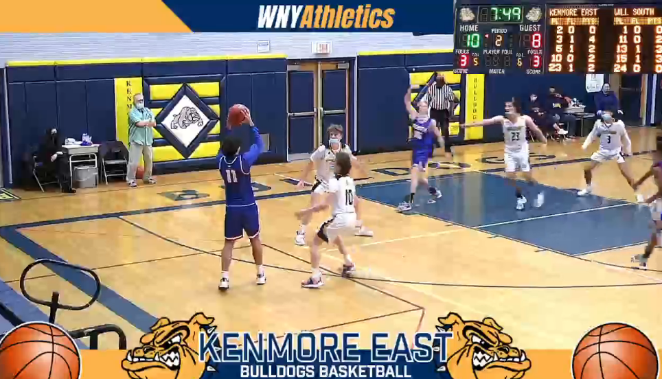WNY High School Basketball: Williamsville South @ Kenmore East ***Click Here***