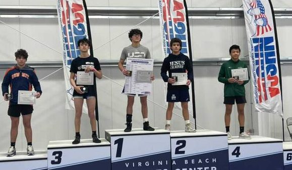 North's Catrabone Claims NHSCA Freshman Wrestling National Title