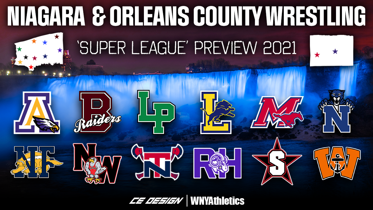 Niagara & Orleans Counties 'Super League' Wrestling Preview 2021