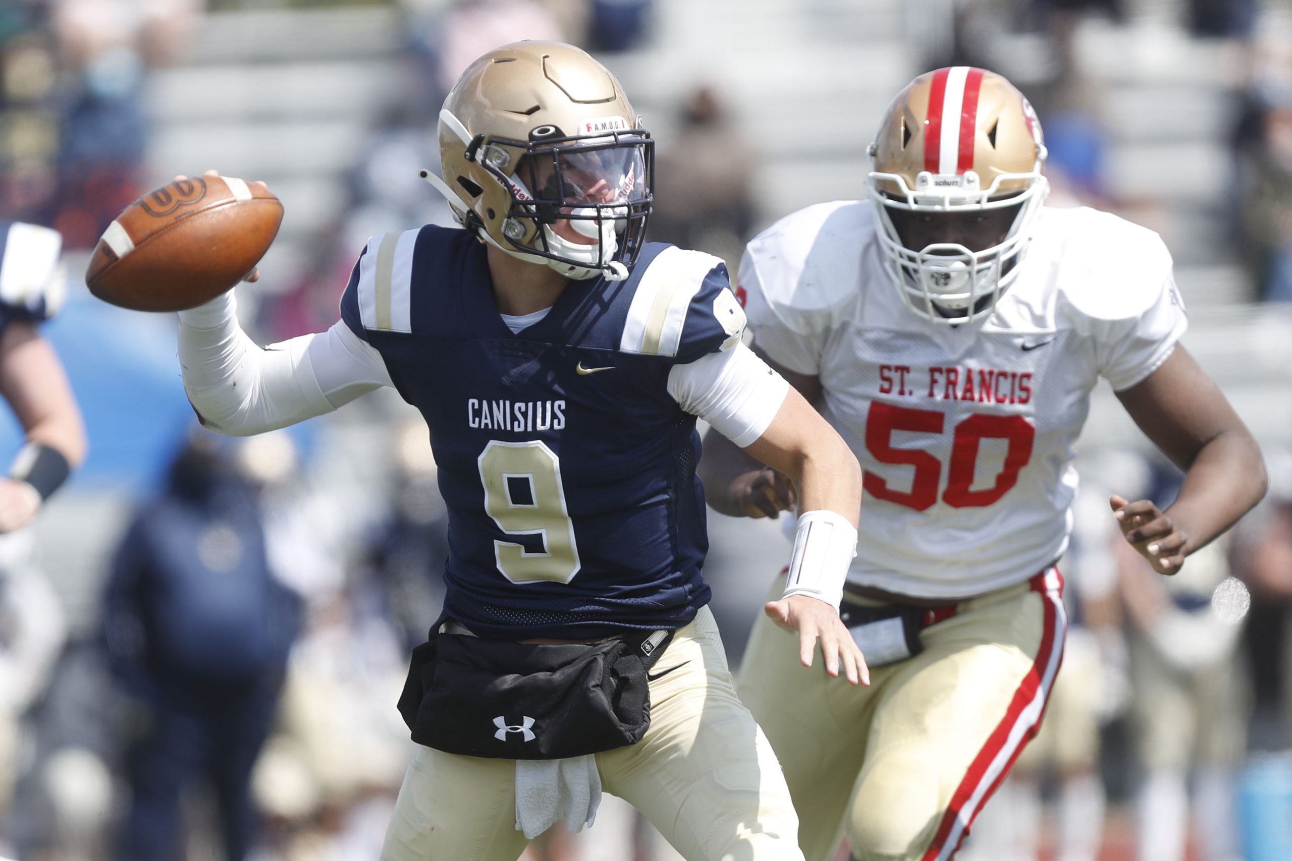 Canisius rides early lead to Monsignor Martin title