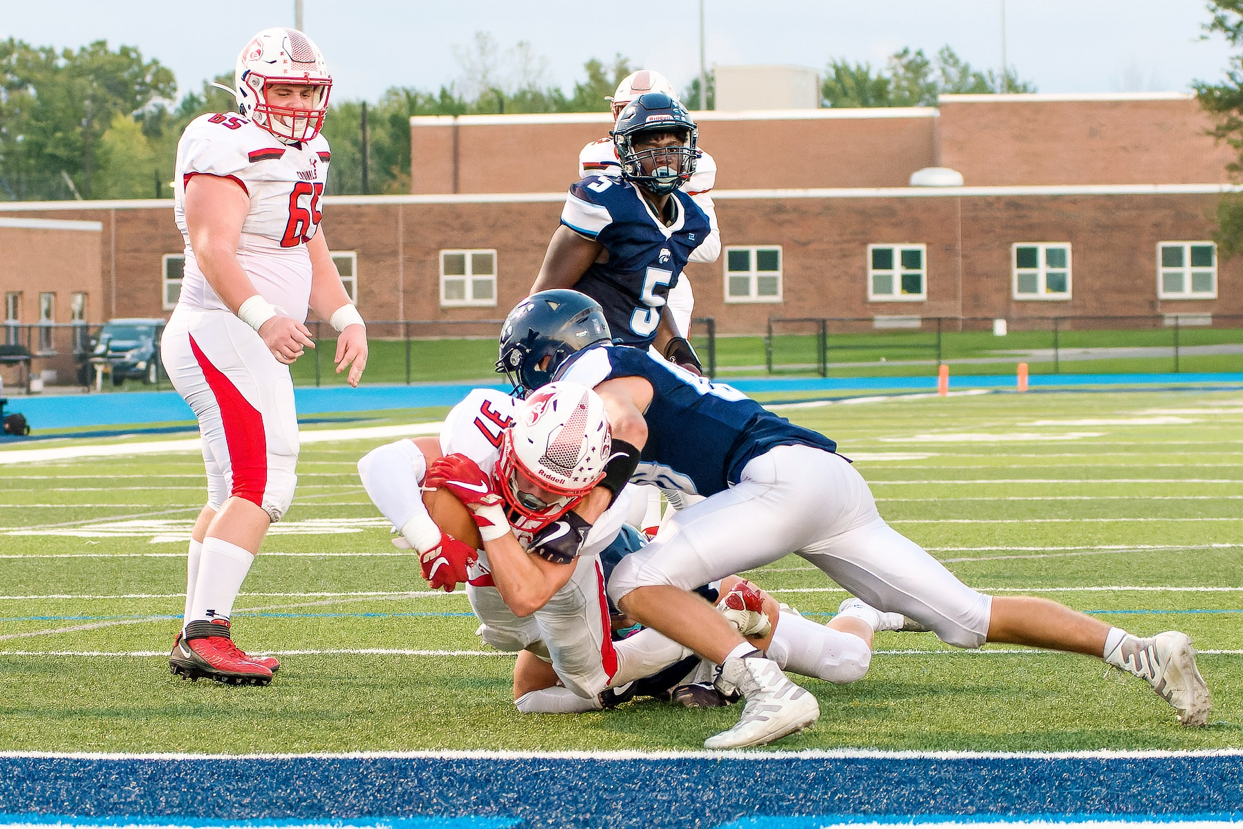 Randolph rushing attack overpowers Depew